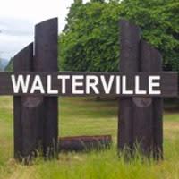 Walterville Oregon Sign