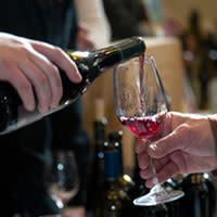 Wine Pour by Georgia Freedman