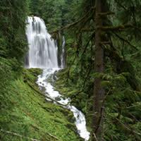 Lower Linton Falls by Jim Dopkus