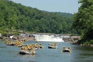 10% off guided rafting trips, $2 off all day bike rental or zip lining