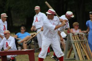 Base Ball Players at Genesee Country Village & Museum