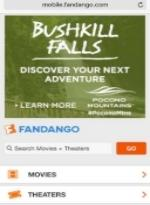 2016 Spring/Summer Co/Op - Online Mobile - Fandango - Bushkill Falls