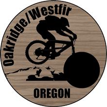 Oakridge/Westfir Geocoin
