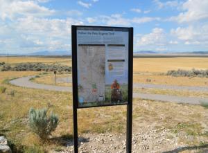 Pony Express Trail Marker