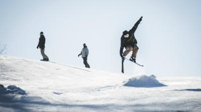 Downhill Skiing at Standing Rocks Park Stevens Point Area