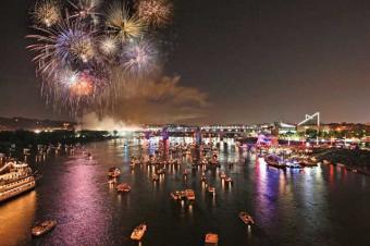 Riverbend fireworks
