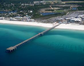 Panama city beach piers russell fields pier more for Panama city beach pier fishing report
