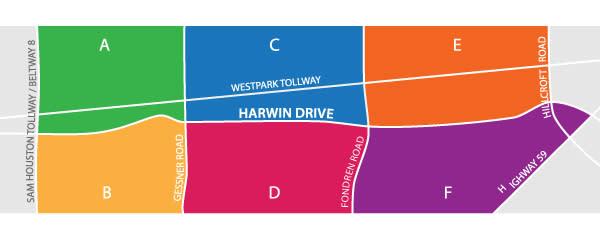 Harwin Street Map