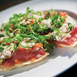 60 Bites - Wicked Tuna - Tuna Pizza