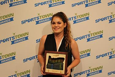 SportsTown Awards 2016 Female Athlete of the Year Madisen Eusted