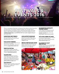 Visitors Guide 2016 - Festivals & Events