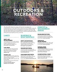 Visitors Guide 2016 - Outdoors & Recreation