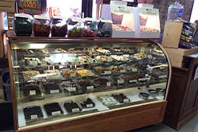 Moon Pie Store candy case