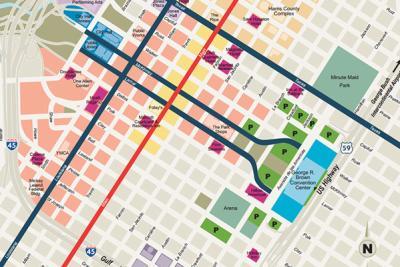 Downtown Streetmap
