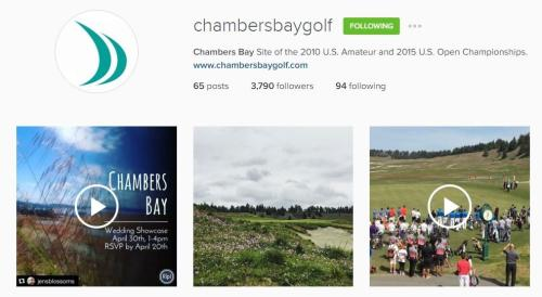 Chambers Bay Instagram