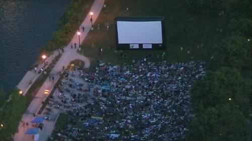 Free Movie Viewing at Ah-Nab-Awen Park