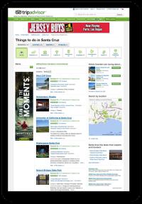 Digital Ads: Trip Advisor page