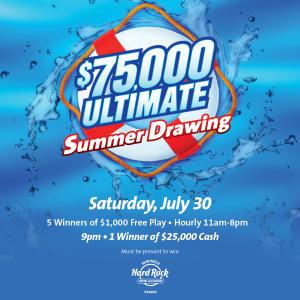 $75,000 Ultimate Summer Drawings