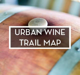 Urban Wine Trail Map