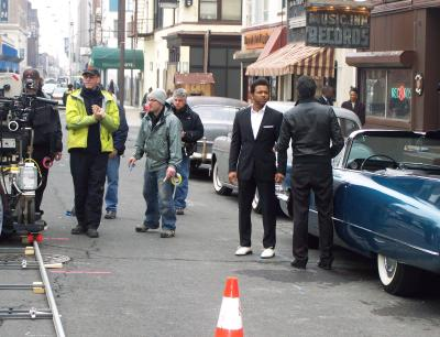 Newark Filming