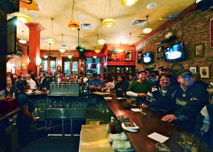 Tailgating at B.D. Riley's Irish Pub