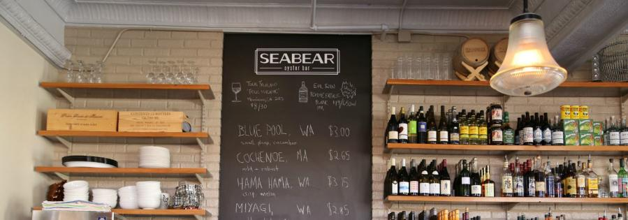 Seabear Oyster Bar board