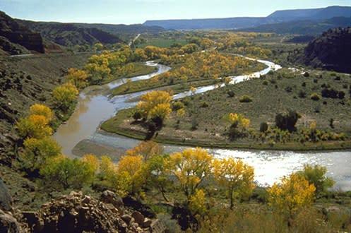 The Rio Grande and Rio Chama