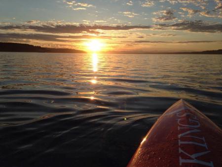 5 am sunrise at Owen Beach