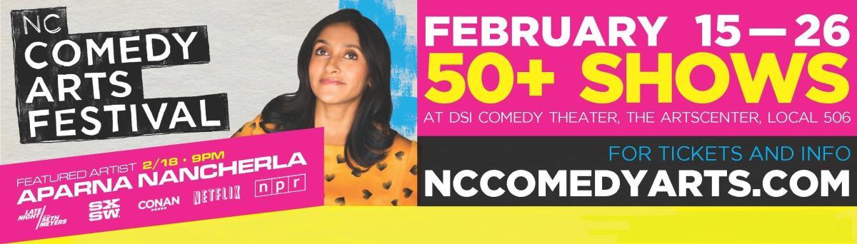 DSI Comedy Fest ad