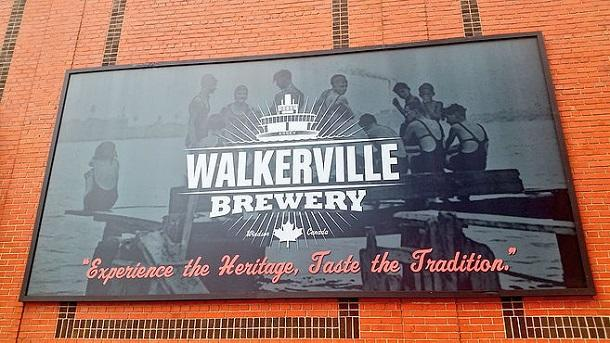 Walkerville brewery sign
