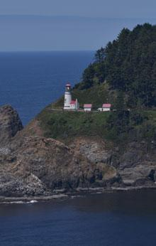 Heceta Head Lighthouse by Samantha Inouye