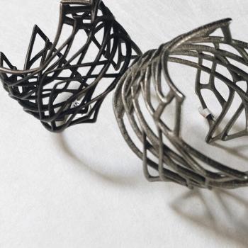 Viscera 3D printed bracelets