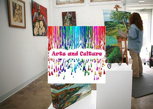 Arts and Culture - Spring Landing Page