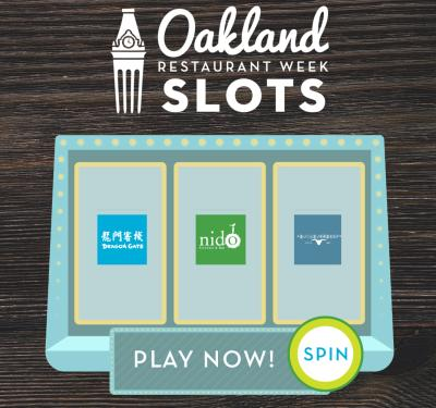 Oakland Restaurant Week Slot Machine Game
