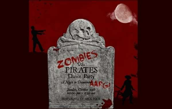 Zombies vs. Pirates Dance Party