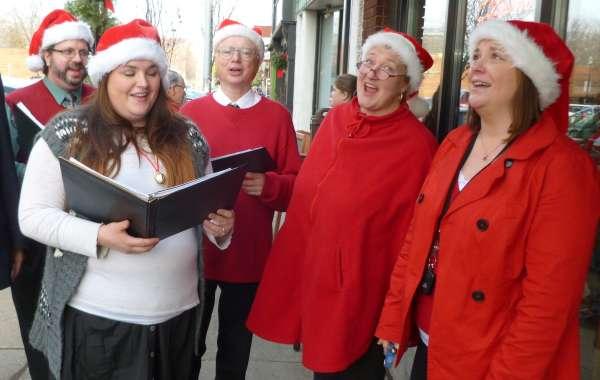 Monroe Street Christmas Walk