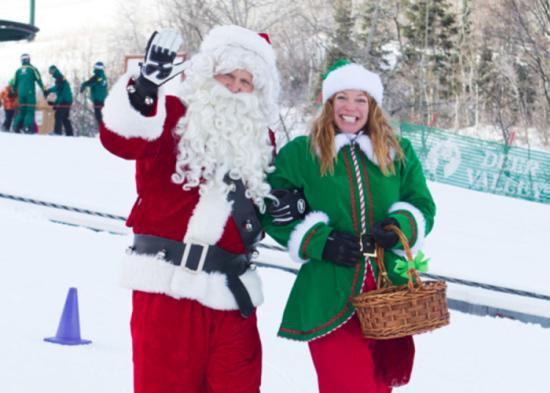 Santa Claus at Deer Valley Resort