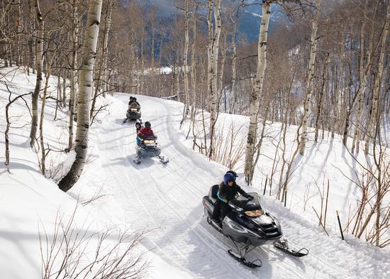 Snowmobiling - blog