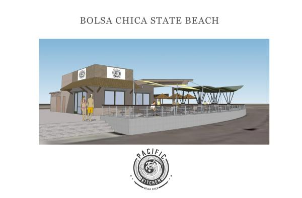 Pacific Kitchen rendering concessions design