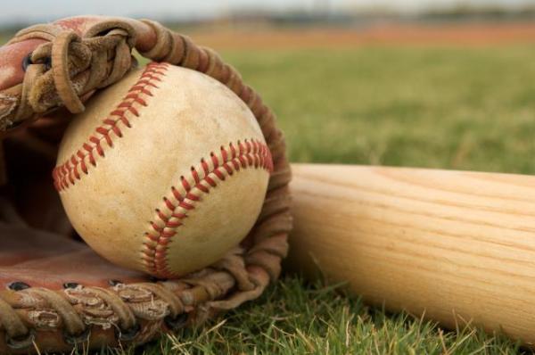 Baseball Glove & Bat