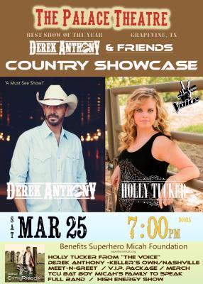 Derek Anthony PAC concert