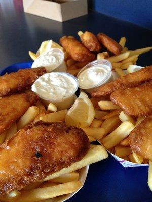 Fish and Chips are a popular choice at Zack's! (Photo courtesy of Joe T. / Yelp)