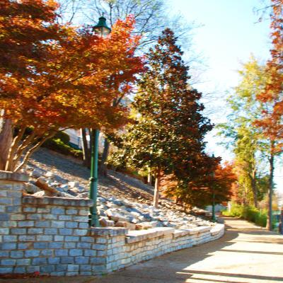 Fall on the Riverwalk