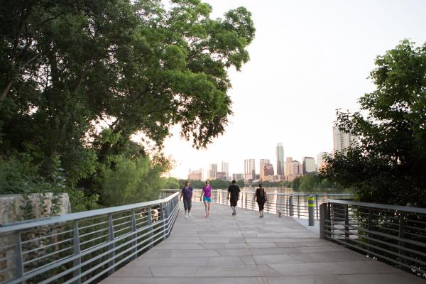 The Boardwalk at Lady Bird Lake