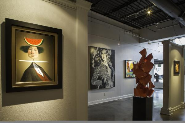 Sculpture and Art Fill the Space at Russell Collection Fine Art Gallery