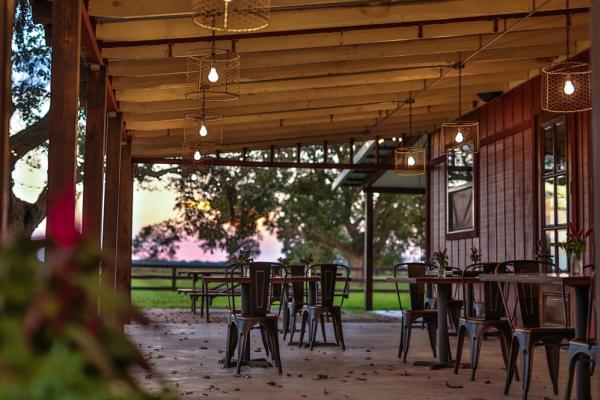 Amelia Farm & Market at Sunset
