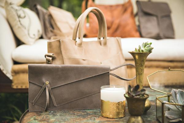 Handbags from Raven and Lily boutique