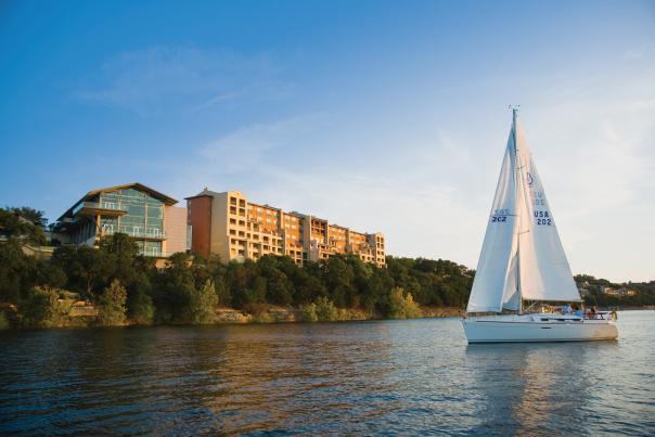 Sailboat near Lakeway Resort and Spa