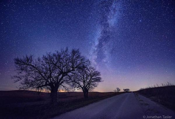 Milky Way Through the Flint Hills