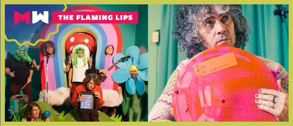 The Flaming Lips will headline Middle Waves